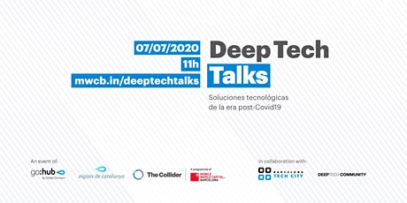 Deep Tech Talks: Soluciones tecnológicas para afrontar los retos posCovid boletos