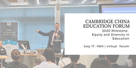 Cambridge China Education Forum 2020 tickets