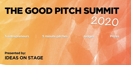 The Good Pitch Summit 2020 tickets