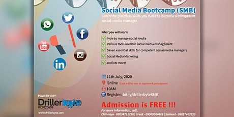 Social Media Bootcamp (SMB) tickets