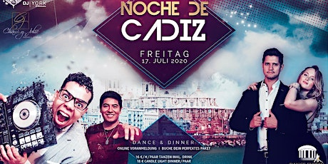 Noche de Cadiz - Bachata Party incl. Workshop (Dance and Dinner) Tickets