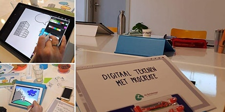 Digitaal tekenen met iPad en Procreate tickets