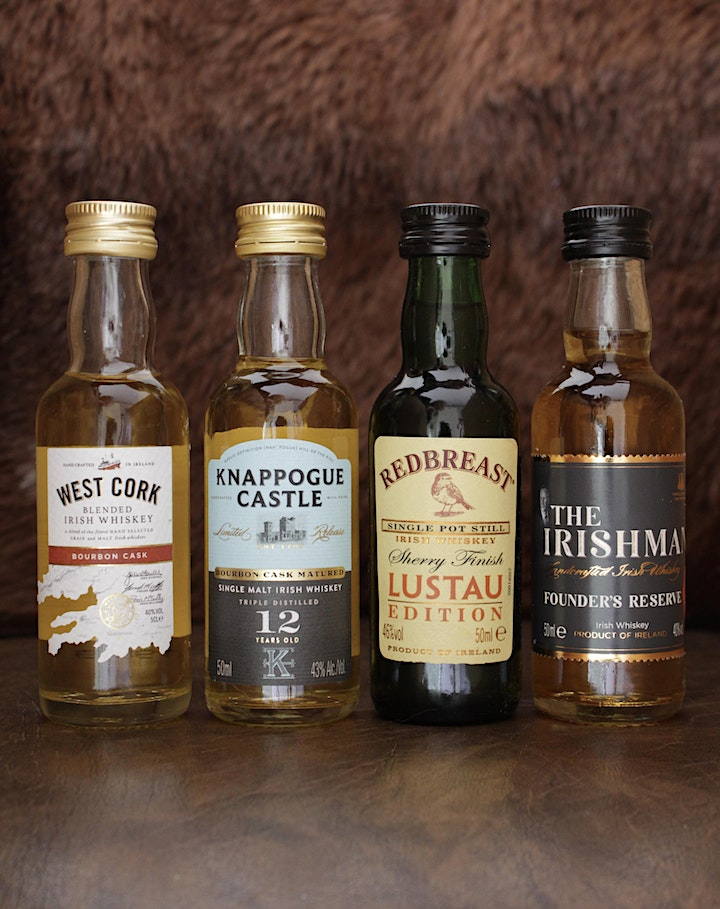 The Whiskey Lock-In.  Virtual Tasting with The Irish Whiskey Museum image