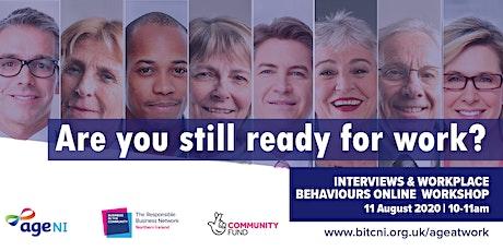 Interviews & Workplace Behaviours Workshop tickets