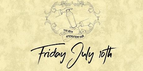 18th Amendment Bar Friday 10th July tickets