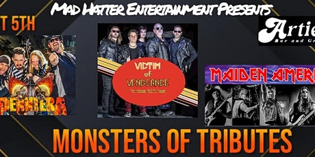 MONSTERS OF TRIBUTE-  Maiden America -Victim of Vengeance- Penntera - tickets