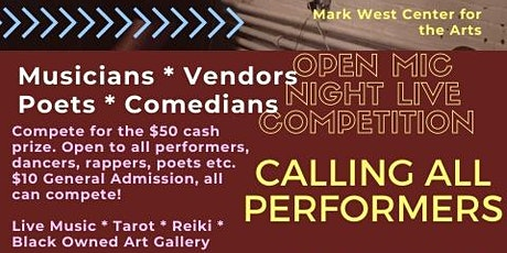 Open Mic Night Live Voting Competition tickets