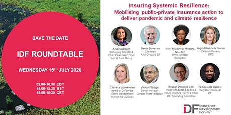 Insuring Systemic Resilience tickets