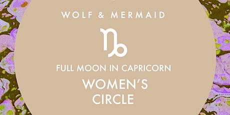 Women's Circle Full Moon in Capricorn tickets