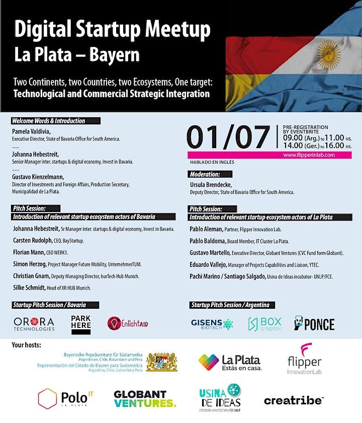 Digital Startup Meetup La Plata – Bayern image