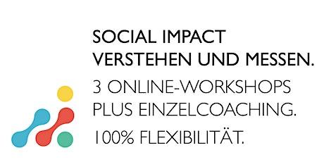 Social Impact verstehen und messen. Info-Event zu den Online-Workshops Tickets