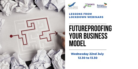 Future Proofing Your Business Model tickets