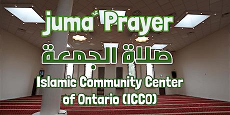 ICCO Juma' Prayer Registration - July 3th , 2020 tickets