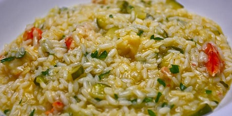 Risotto-Style Summer Heirloom Farro: VIRTUAL HANDS ON tickets