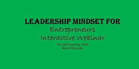 Leadership Mindset for Entrepreneurs tickets