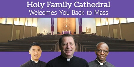 Weekend Mass at Holy Family Cathedral tickets