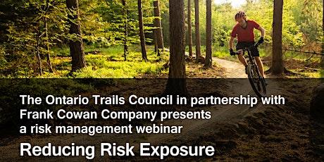 Reducing Risk Exposure - A Webinar Presentation by The Frank Cowan Company tickets