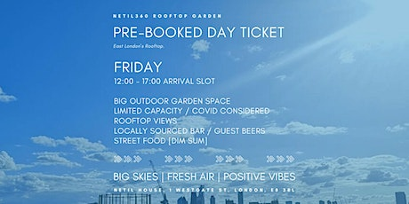 Friday [12:00 - 17:00 Arrival Slot] tickets