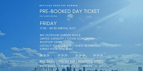 Friday [17:00 - 00:30 Arrival Slot] tickets