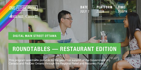 Digital Main Street Ottawa Roundtables – Restaurant Edition tickets