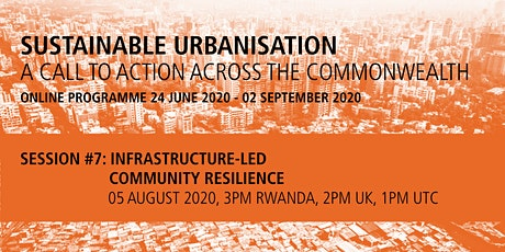 Commonwealth Sustainable Urbanisation Online Programme: Session 7 tickets