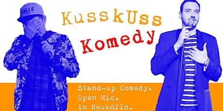 Stand-up Comedy: KussKuss Komedy Open Mic am 15. Juli tickets