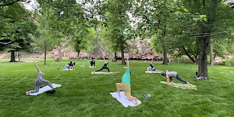 Yoga - Outside of WeeCasa Tiny House Resort tickets