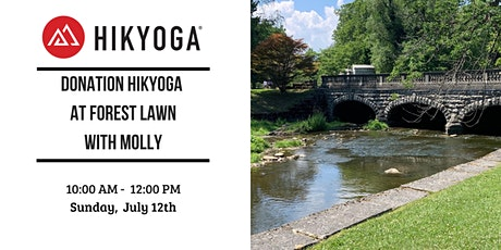 Donation Hikyoga at Forest Lawn with Molly tickets