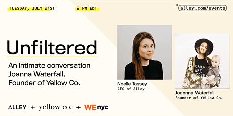 Unfiltered: Digital Connectivity with Joanna Waterfall from Yellow Co. tickets
