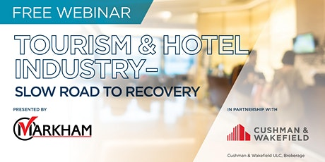 Webinar: Tourism & Hotel Industry - Slow Road to Recovery tickets