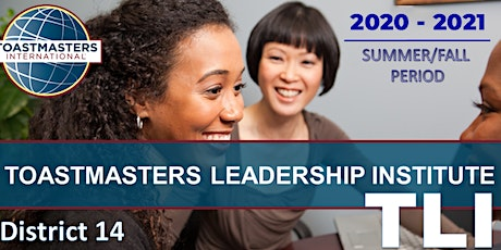 2020 Summer TLI (Toastmasters Leadership Institute) - Hosted by Division A tickets