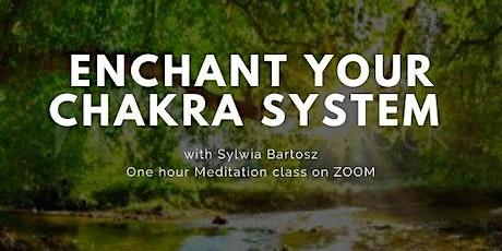 ENCHANT YOUR CHAKRA SYSTEM webinar tickets