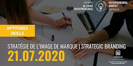 CEE: Stratégie de l'image de marque  EMC: Strategic Branding tickets