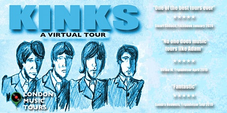 The Kinks – A Virtual Tour Of London tickets