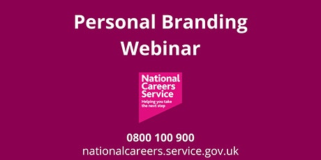 WEBINAR: Personal Branding – YOU Are Your Brand tickets