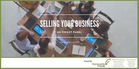 Selling Your Business - Expert Panel Webinar tickets