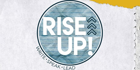 RISE UP! Gathering >>> write • speak • lead tickets
