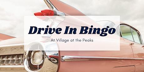 Drive In Bingo $5 PER CAR tickets