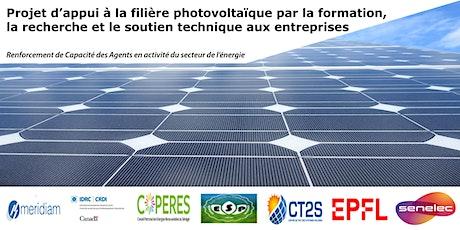 Webinaire 2 - Le photovoltaïque: état des lieux sur la technologie billets