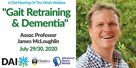 DAI Webinar: Gait Retraining and Dementia tickets