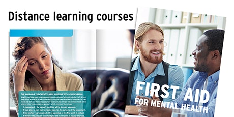 Mental Health First Aid Awareness Online Distance Level 1 Course tickets