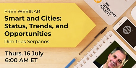 Smart and Circular Cities: Status, Trends and Opportunities entradas