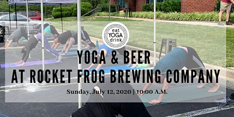 Yoga & Beer at Rocket Frog Brewing! tickets