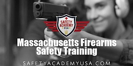 Massachusetts Basic Firearms Sfey Class tickets