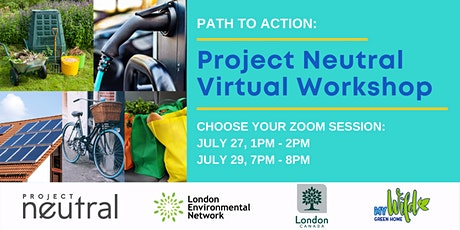 Path to Action: Project Neutral Virtual Workshop tickets