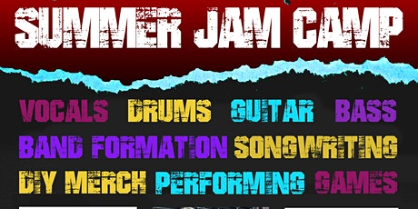 Summer Music JAM Camp tickets