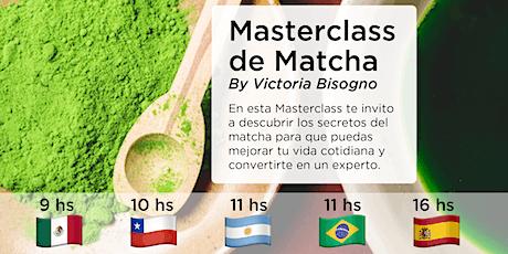 Masterclass de Matcha entradas