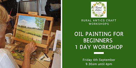 Oil Painting for Beginners Workshop tickets