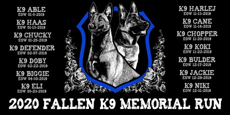 2020 National Police K9 Day - Fallen K9 Memorial Run tickets