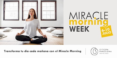 Miracle Morning Week en Barcelona con Thomas tickets